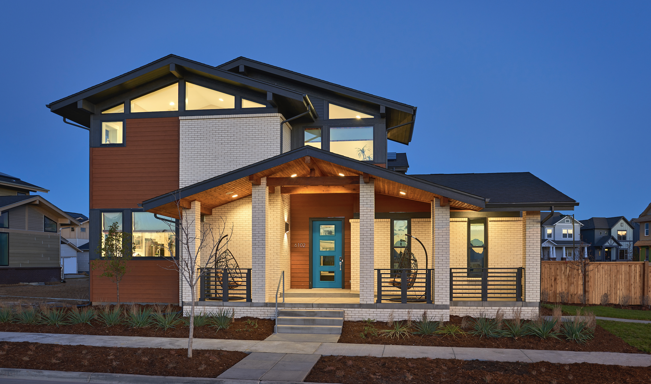 2020 National Housing Quality silver award winner Thrive house exterior