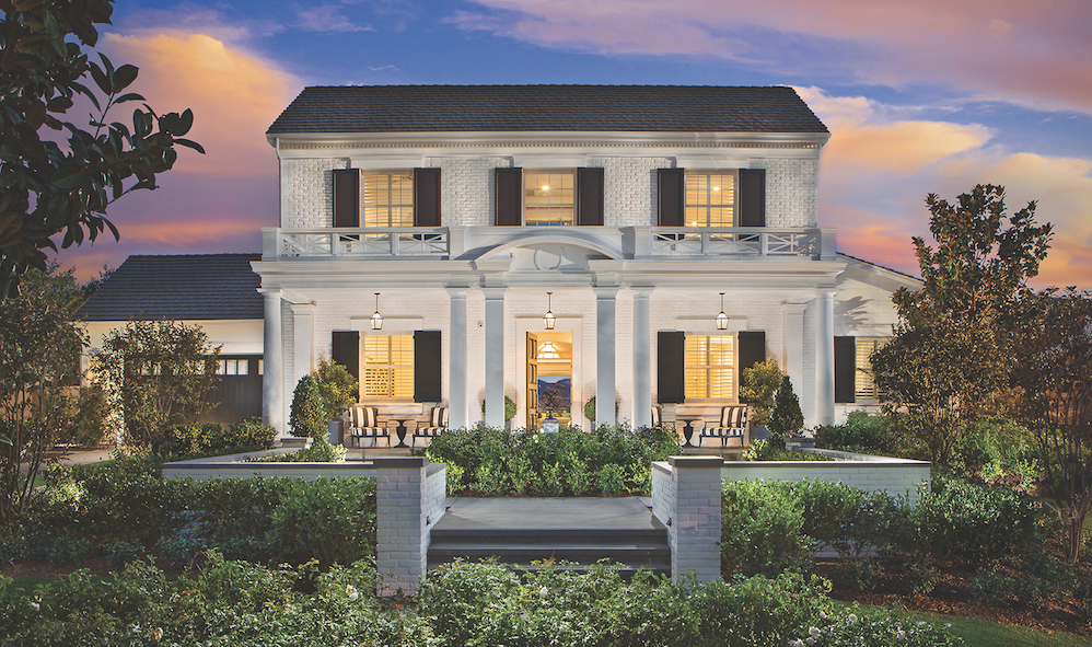 The New Home Company Sky Ranch, Calif., luxury home colonial revival exterior