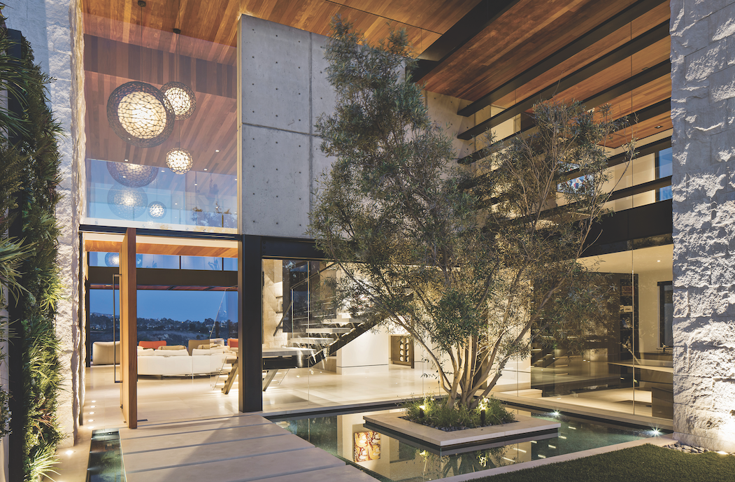 2019 professional builder design awards details entry courtyard
