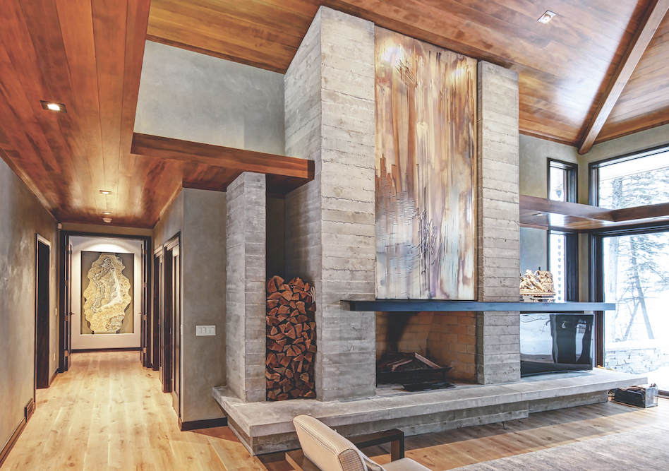 2019 professional builder design awards details fireplace