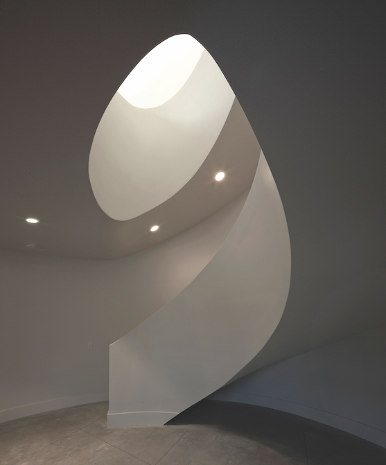 2019 professional builder design awards details custom sculptural stair