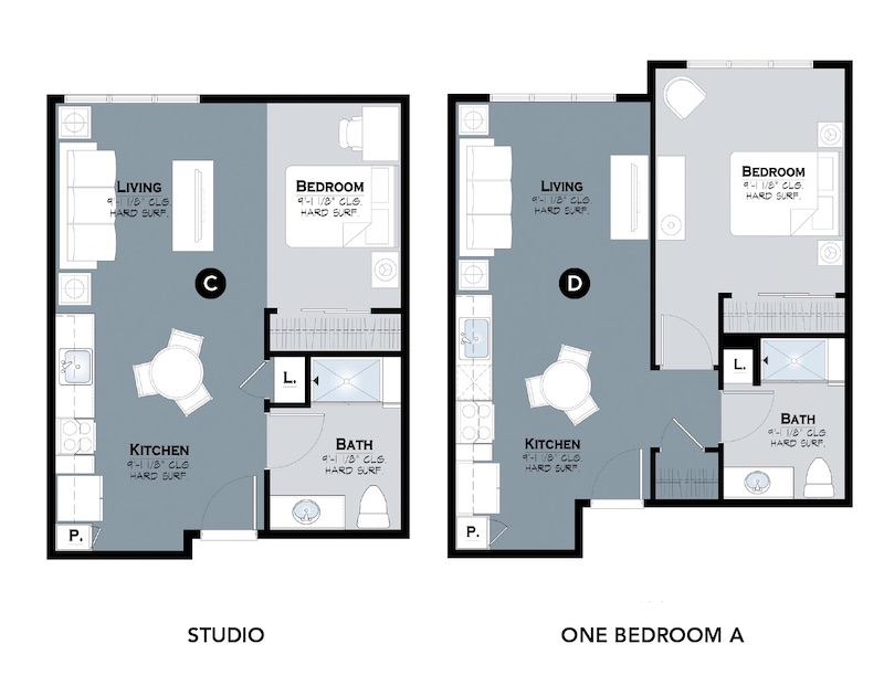 Stepping Stone Communities affordable housing unit floor plans