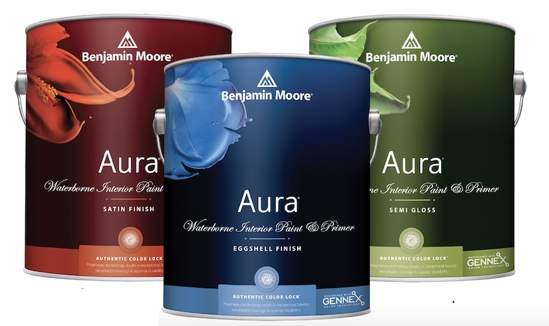 2020 IBS products Benjamin Moore Gennex Color technology for low VOC
