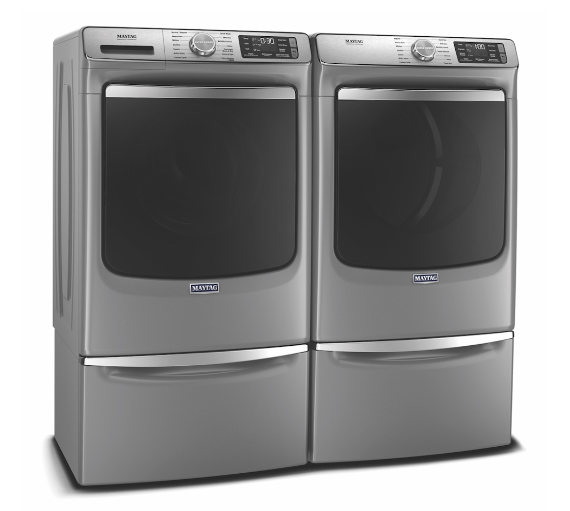 IBS products preview Maytag Smart Front Load Washer and Dryer