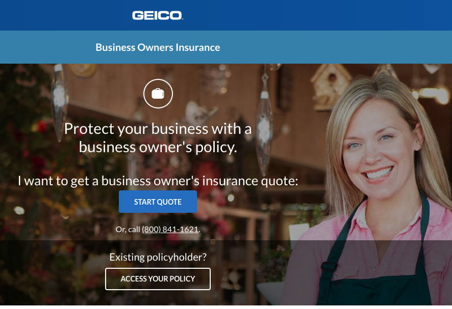 Geico insurance business owner's policy