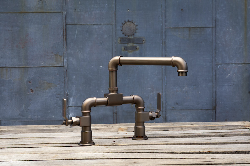 New Port Brass Duncan faucet industrial style