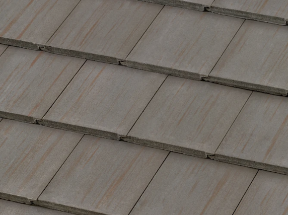 Boral Roofing Weathered Ash concrete roof tile