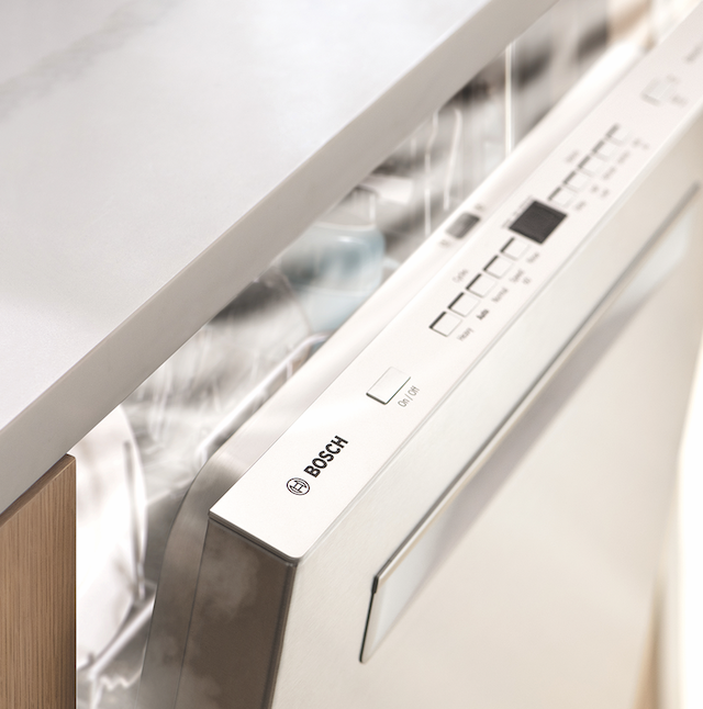 Bosch dishwasher with new CrystalDry technology
