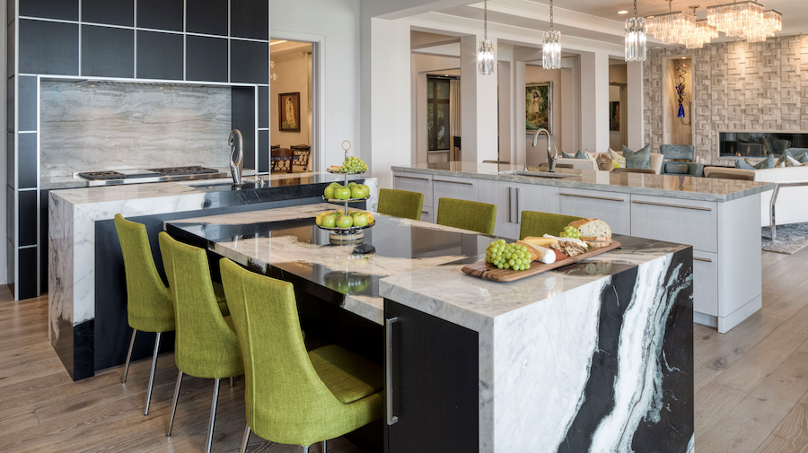 Aurora Award winner for custom kitchen: Brightwaters, in St. Petersburg, Florida