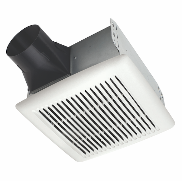 Brain Flex Series A80 V2 exhaust fan can be installed room-side