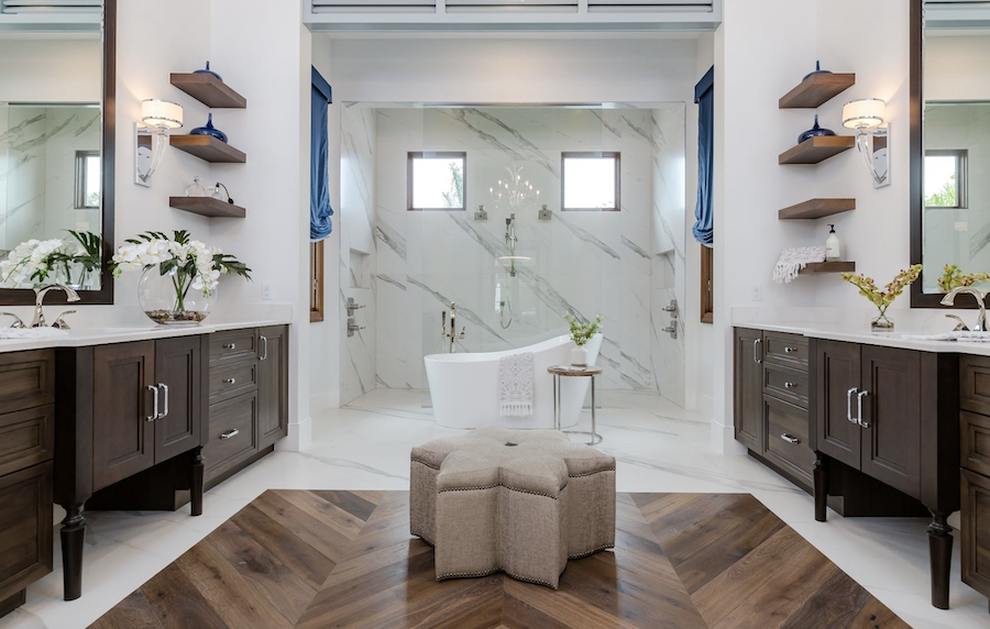 Bathroom at the Carleton, Fort Myers, Fla.