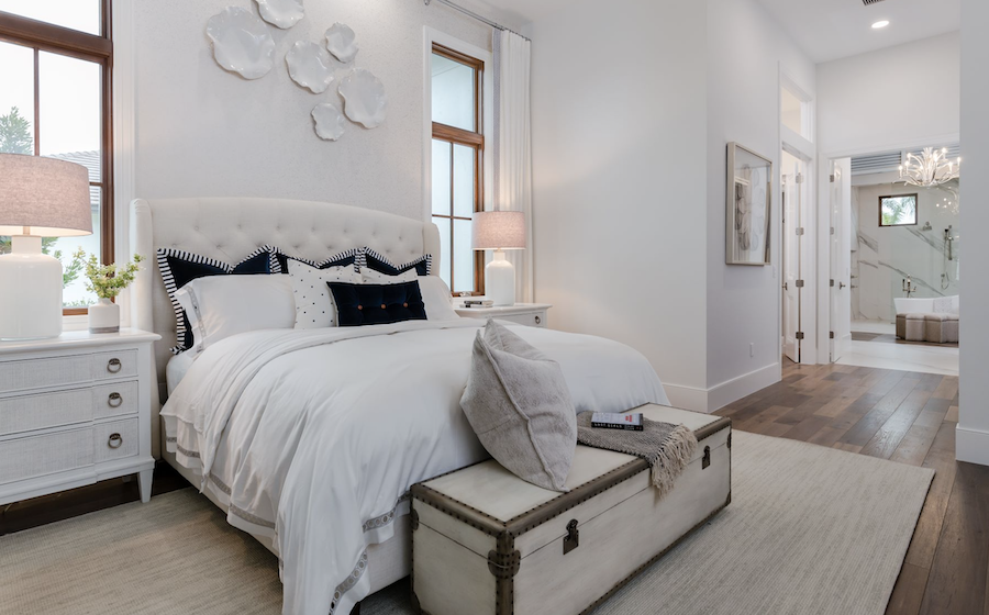 Bedroom at the Carleton, Fort Myers, Fla.