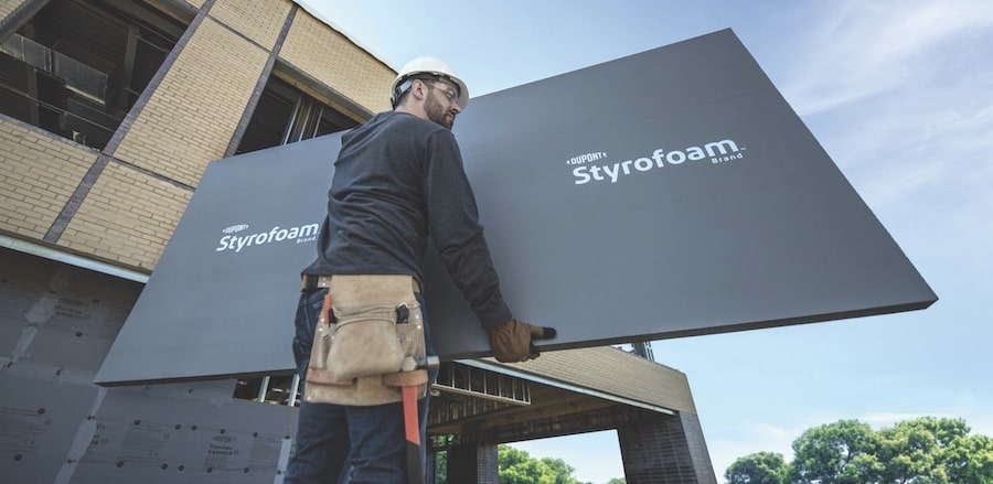 DuPont gray Styrofoam XPS, 2021 Top 100 Products