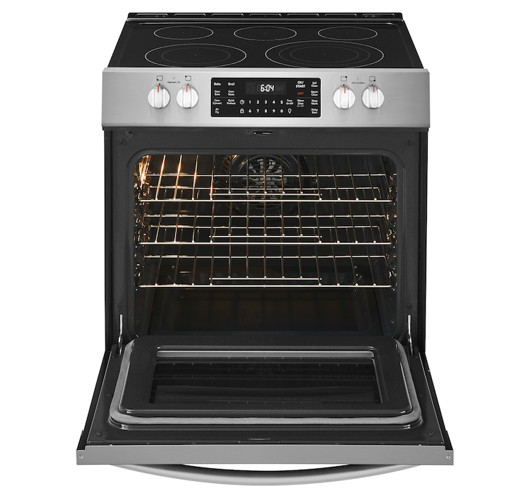 Frigidaire's Gallery front control range includes Air Fry