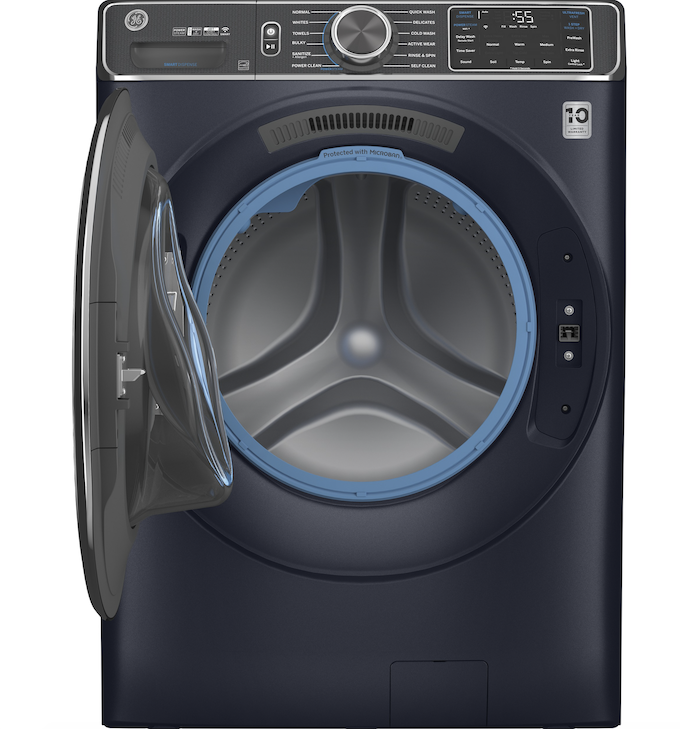 GE's UltraFresh Front Load Washing Machine promises to stay odor-free