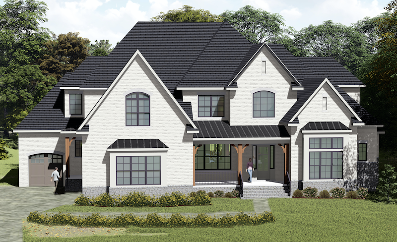 Front elevation of The Jeffrey designed by GMD Design Group