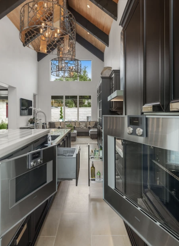 LEED Platinum kitchen in the Greenlab showhouse in Dallas