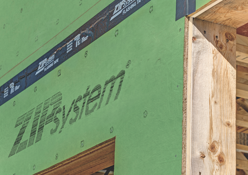 Huber Engineered Woods Zip System R-Sheathing all-in-one structural panel