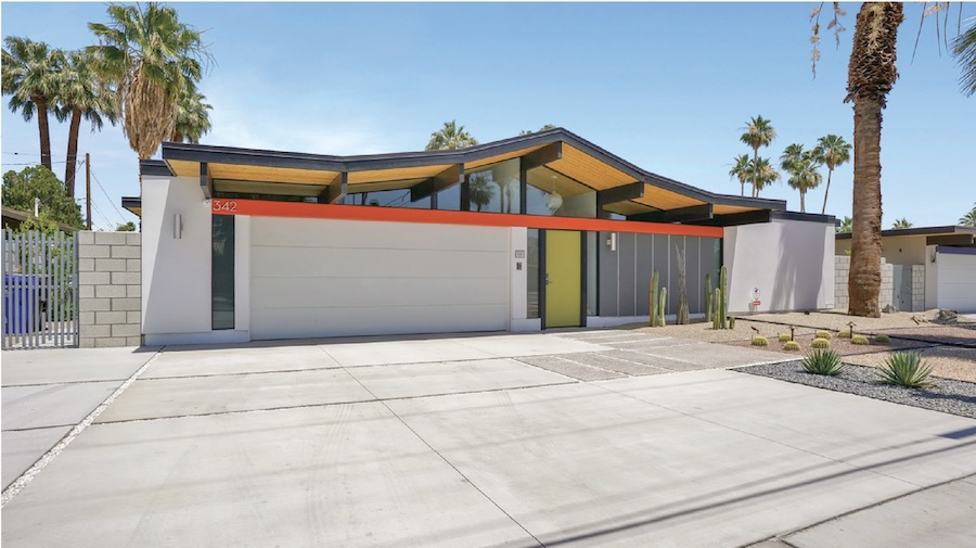 KUD Properties' Eichler-inspired home exterior