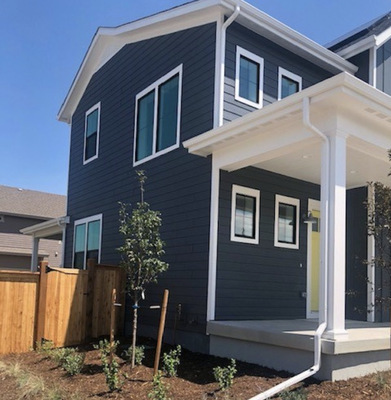 LP SmartSide siding and trim on the Ultimate Z.E.N. Home in Denver