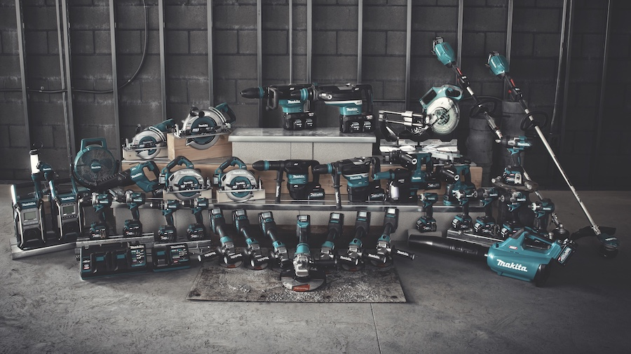 Makita XGT family of power tools