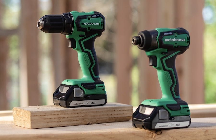 Metabo HPT sub-compact power tools—drill and impact drill