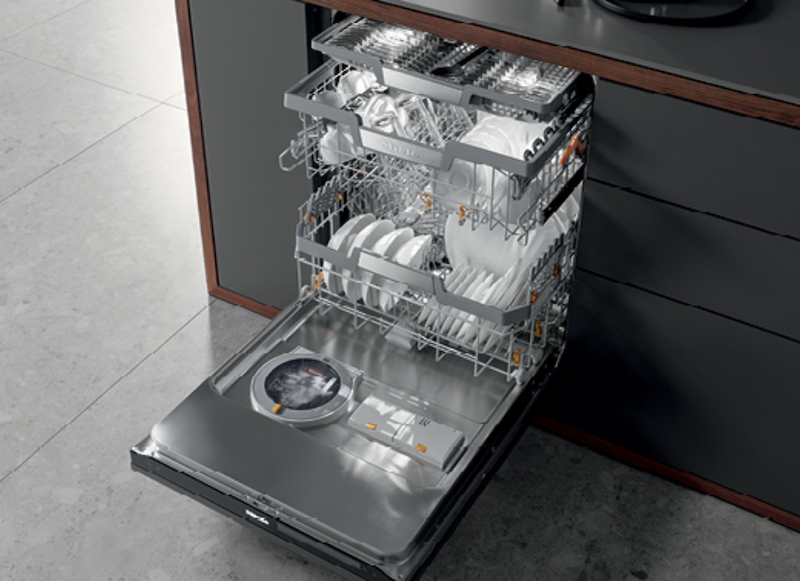 Miele G 7000 dishwasher with Power Disk for detergent
