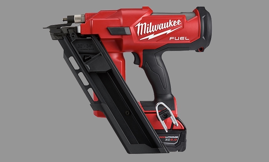 Milwaukee Tool M-18 Fuel 30-degree framing nailer
