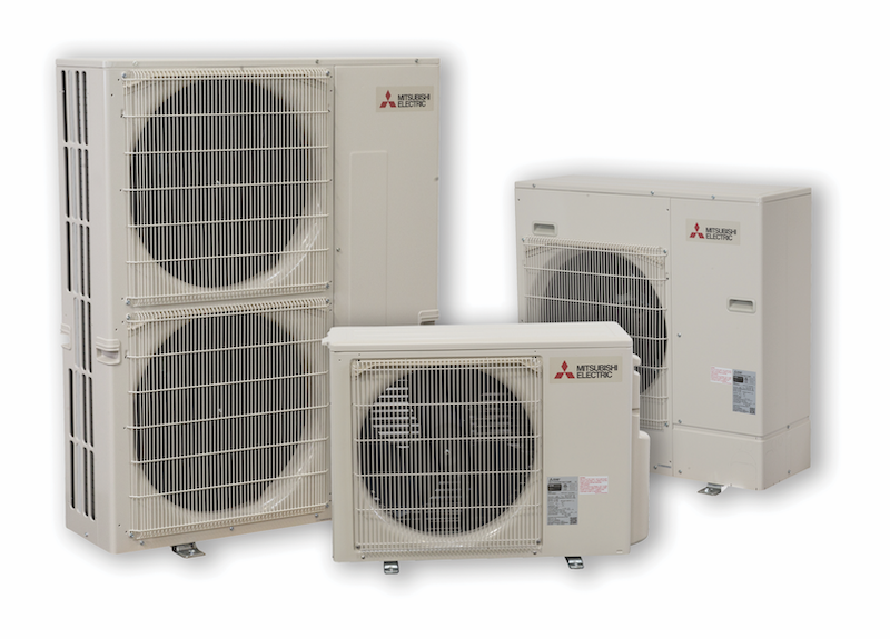 Mitsubishi Zoned Comfort systems for home HVAC
