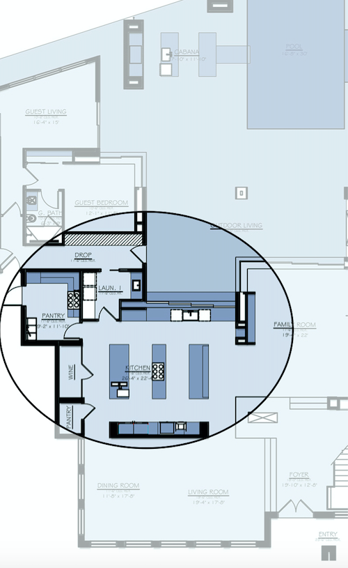 Nyumbani luxury spec home floor plan
