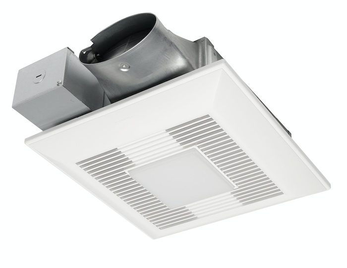 Panasonic's WhisperValue DC low-profile EnergyStar-rated fan