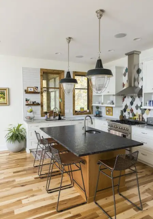 Sol Design + Consulting LEED Gold kitchen in the Sikes Residence