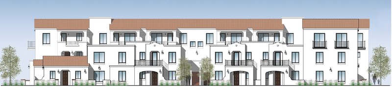 Exterior of the Portside Ventura Harbor Townhomes