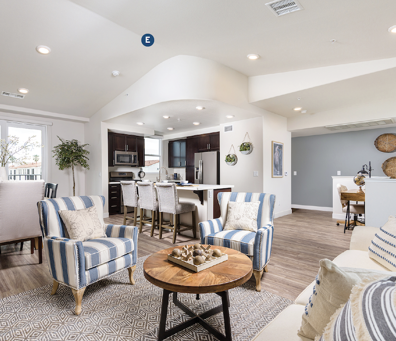 Interior at the Portside Ventura Harbor Townhomes