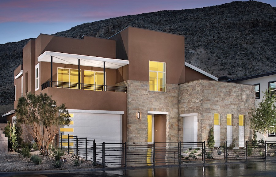 Exterior of Terra Luna at Summerlin by Pardee Homes