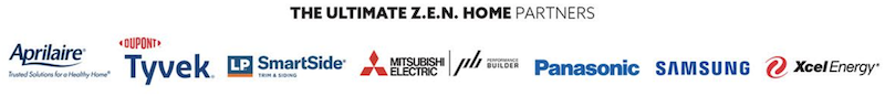 Ultimate ZEN Home partner companies' logos