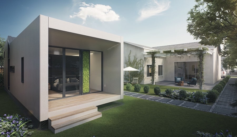 Veev ADU with single-family home