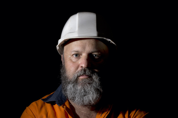 Middle Aged Worker Portrait
