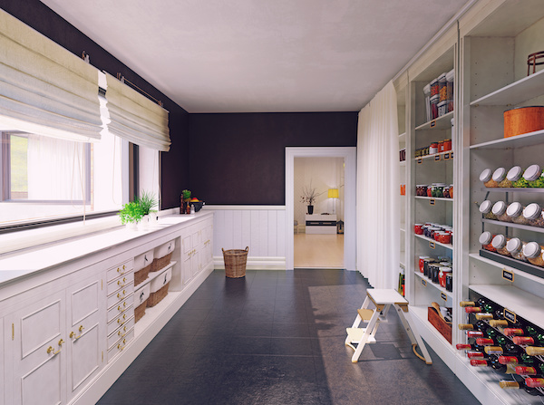 Modern Pantry Mudroom
