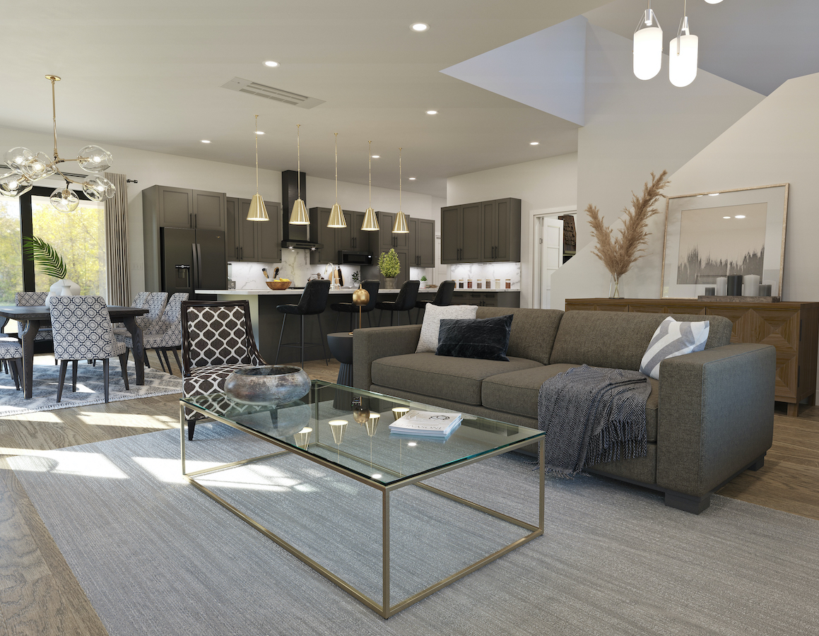 Thrive Builders show village home