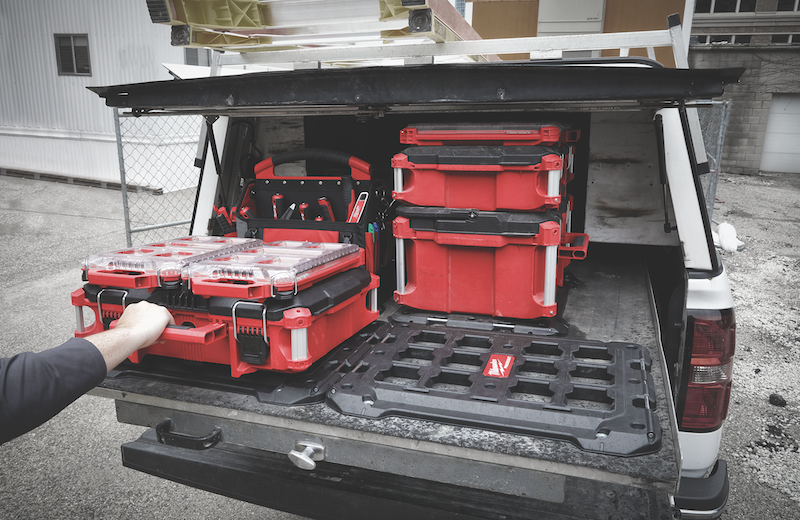 Milwaukee Tool's Packout System of tool storage