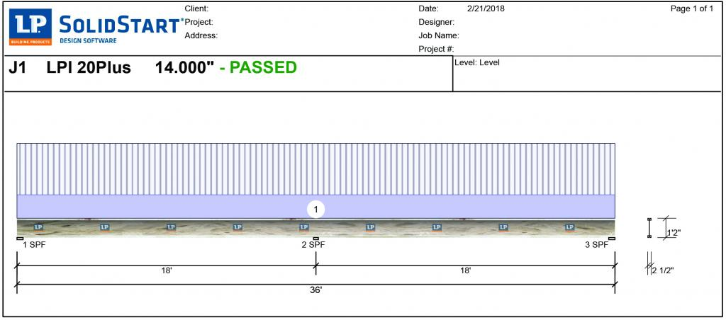 "Using software programs, dealers and builders can design the floor system to meet both code requirements and performance metrics. For example, this output from LP's SolidStart Design Software [Link: https://lpcorp.com/products/resources/software-downloads/lp-solidstart-design-software/] shows a multi-span I-joist designed at 16"" o.c. which, coupled with a high-performance sub-floor, would be suitable for a custom home application."