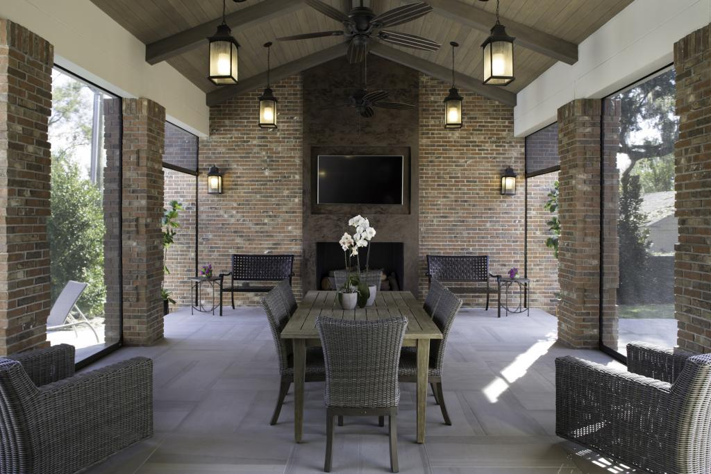 Authintic Brick outdoor patio copy Meridian Brick