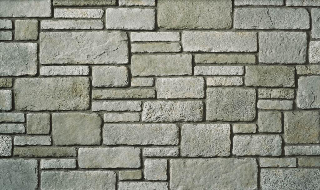 Cultured Stone Profile Sculpted Ashlar Silver