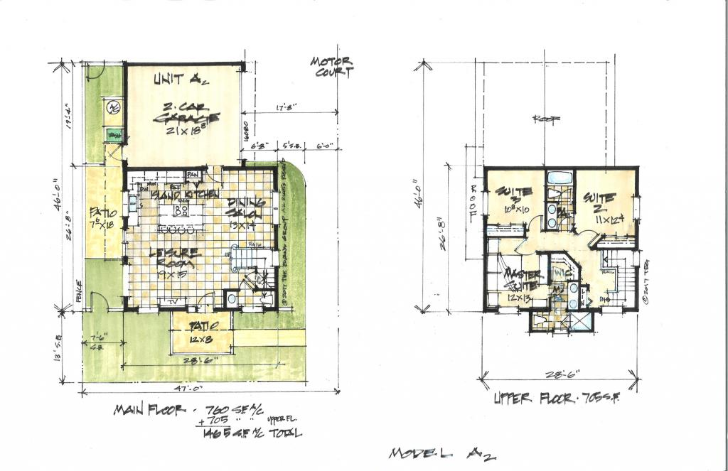 FOUR PACK QUAD HOMES The Evans Group Donald F. Evans, AIA devans@theevansgroup.com theevansgroup.com 407.650.8770