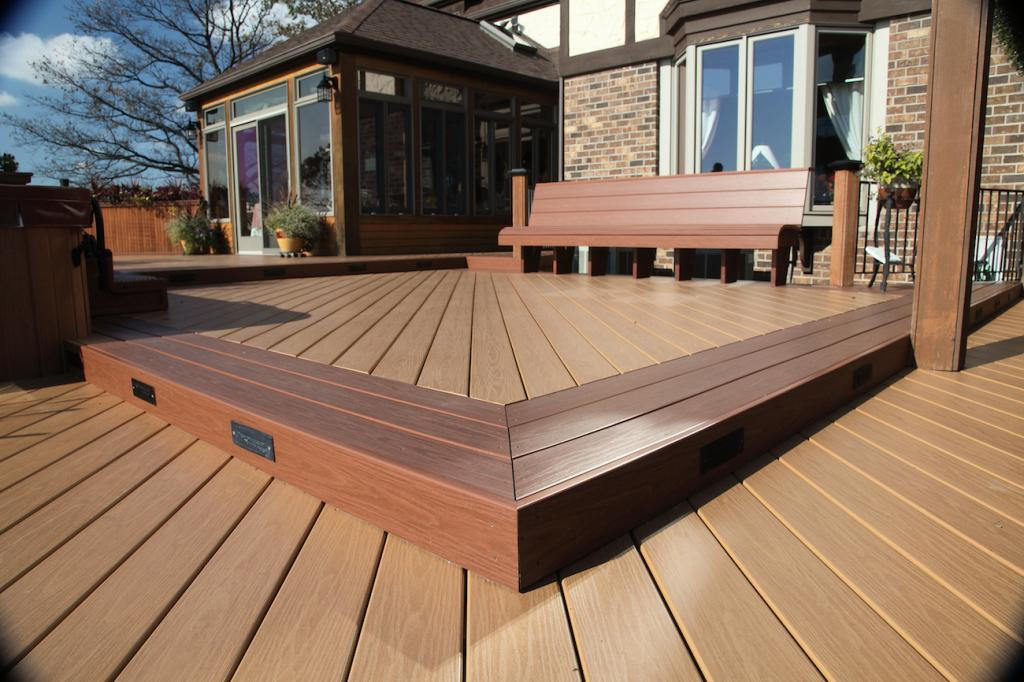 Inteplast Decor Deck Morrocan Cedar Spanish Walnut