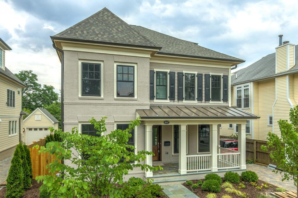 A new home in Arlington, Va., by Madison Homes and Devereaux & Associates Architects