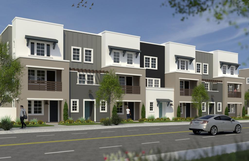 Kevin L Crook Row Townhomes