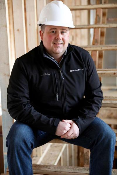 Aaron Roan, 38 VP Operations Inspired Homes Kansas City, Mo.