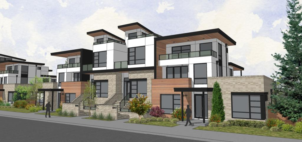 DTJ Designs Rowhomes at Boulevard One